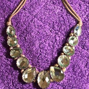 Jewelry - Light Blue Stone Necklace